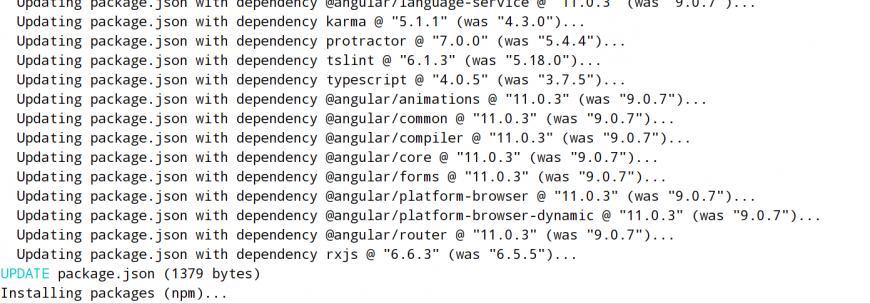 risolvere i problemi di versione Angular-cli