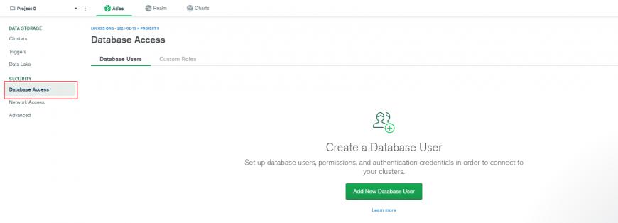 Salvare i dati un database MongoDb